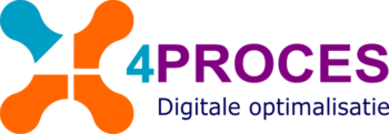 4PROCES logo, digitale optimalisatie