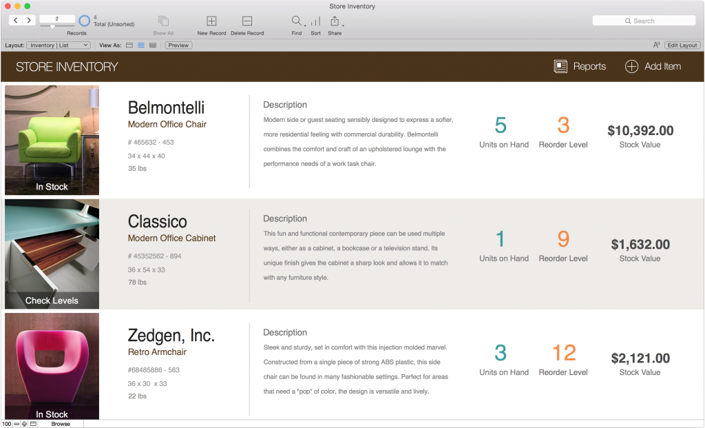 experience filemaker